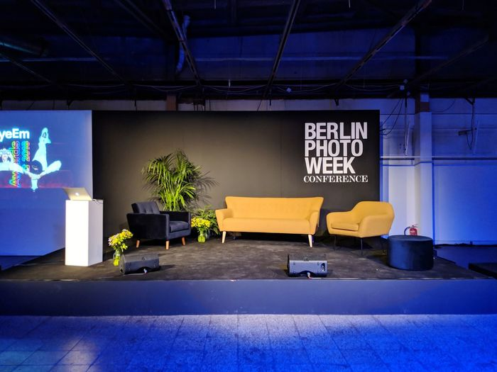 welcome to the stage! Event BPW18 Eyeemawards18 Eyeemawards2018 Stage Conference Couch Comfortable Empty Modern Business Finance And Industry Architecture