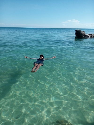 Sea Water Real People Full Length One Person Beauty In Nature