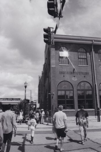 Bourbon Trail first stop, Angels Envy Distillery Angels Envy Distillery Bourbon Trail Kentucky Bourbon Trail Film Friends Louisville Louisville, Kentucky No Filter Adventure Black And White Film Photography Road Trip Summer2017 EyeEm Ready   The Architect - 2018 EyeEm Awards