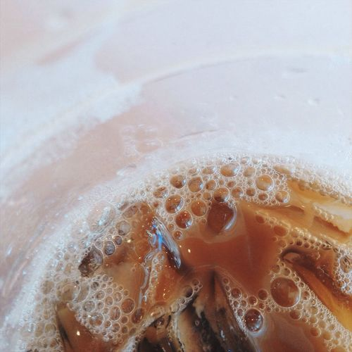 Close-up of drink with ice