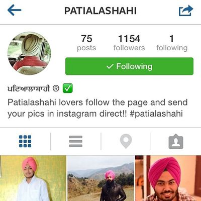 Guyzz you need to follow this page its just simply sirra page @patialashahi