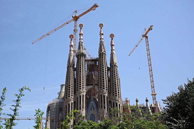 Sagrada Familia, Barcelona / Barcelona Barcelona, Spain Gaudi Sagrada Familia Buldings SPAIN Monuments Church Churches España Barcelona♡♥♡♥♡