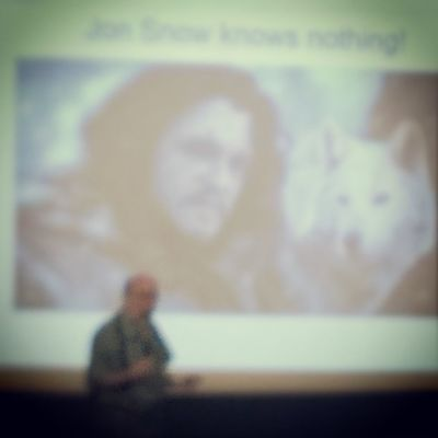 Godrejoncampus Spjimr JonSnow does know a lot