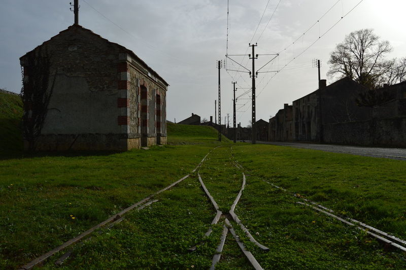 Grass Green Color History Place Memories Railway Track Station Tramlines War