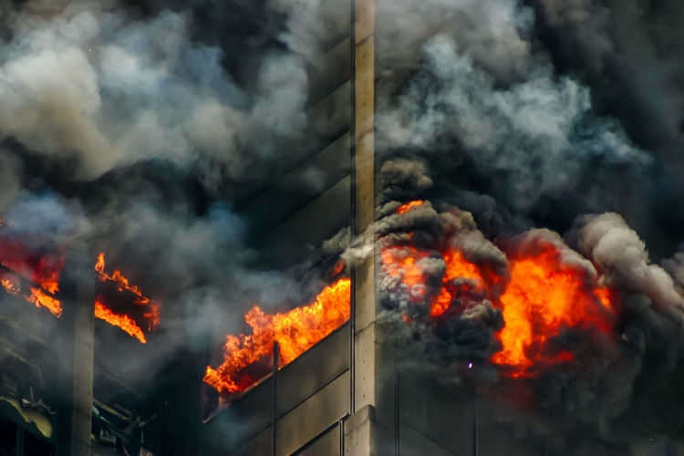 Power In Nature Day Air Pollution Outdoors Pollution Environment Glowing Accidents And Disasters No People Environmental Issues Communication Nature Warning Sign Flame Sign Orange Color Fire Fire - Natural Phenomenon Burning Heat - Temperature Smoke - Physical Structure Caracas, Venezuela