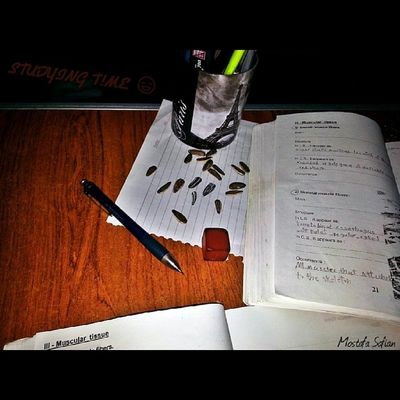 Studying Time .. ? ? ? ? Study Exam Paper Pen book eraser histology