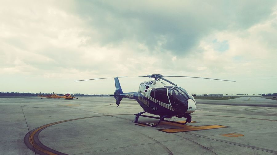 Flightline Helicopter Aviation Police