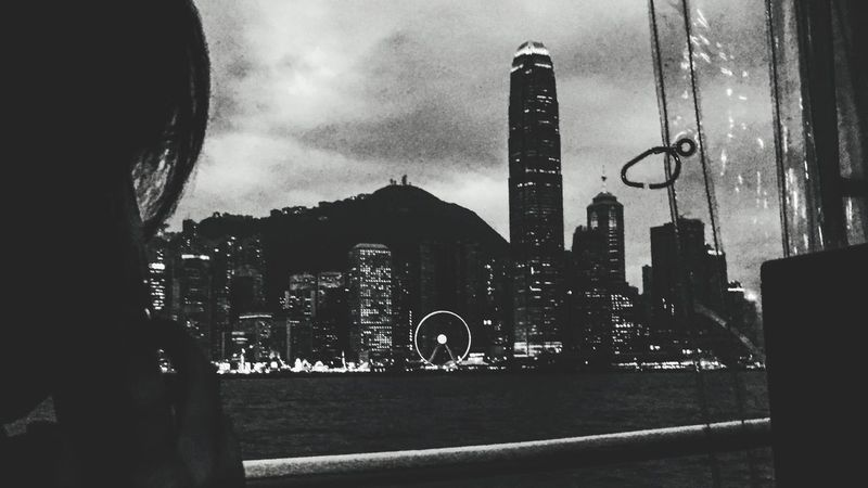 Bw_collection HongKong Blackandwhite On The Way Hong Kong Ferry Miles Away The City Light Adventures In The City