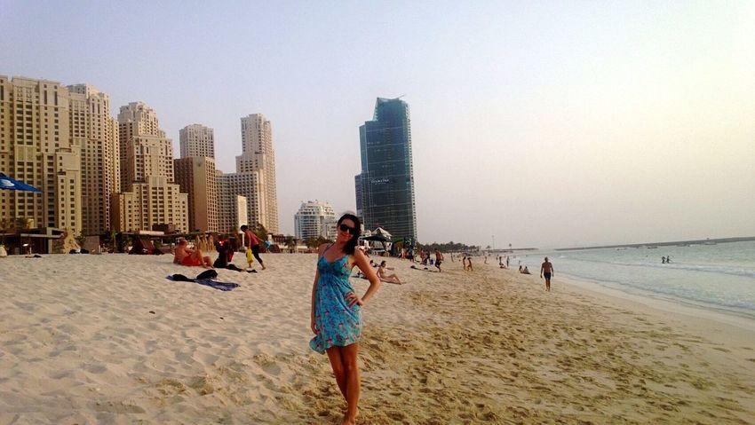 UAE Jumeirah Beach Traveling