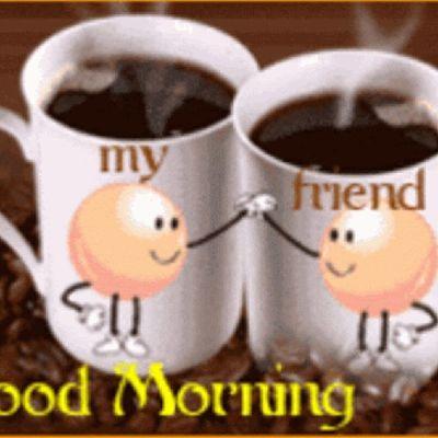 Love Goodmorning Coffee Spring