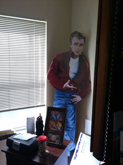James Dean cut out Actor Movıe Movıe One Person Indoors  Real People Lifestyles Young Men Standing Young Adult Casual Clothing Home Interior Three Quarter Length Window Men Table Adult Looking Architecture Leisure Activity Domestic Life