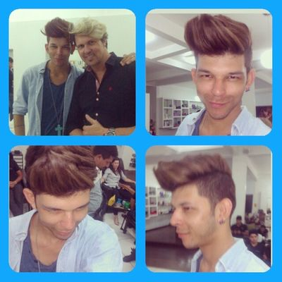 Fashion day da Keune com @charlesb2012 Fashionday Hairdesing Hair Instagood instamoments hairstyle style