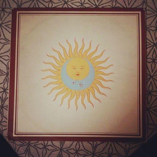 Veckans vinyl är en tidig skiva av den progressiva rockens gudfäder. Vinyloftheweek Vinyllover Recordmaniac Recordlover records kingcrimson larkstonguesinaspic