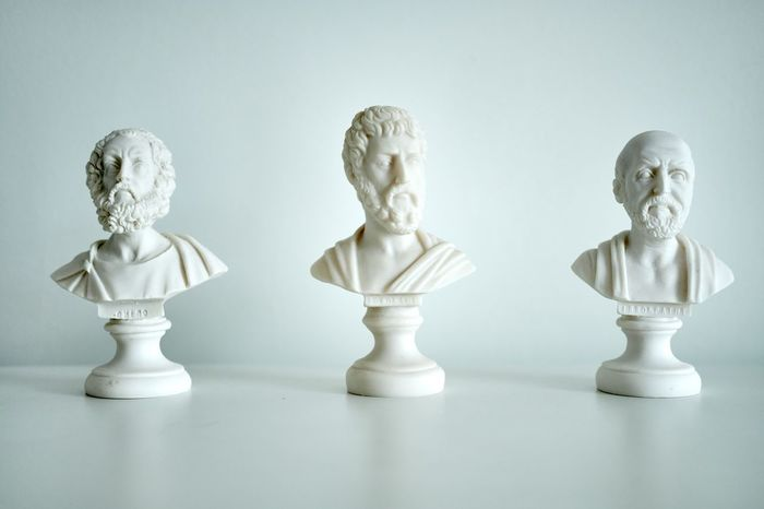 Ancient Greece Busts Greek Human Representation Indoors  No People Philosopher Statue Symbol Thinker Wriiter