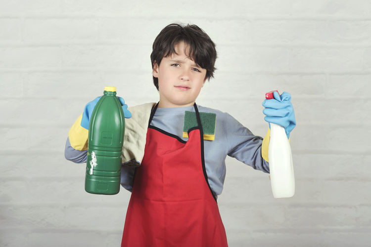 Child Cleaning Cleaner Stressed Home Work Equality Cloth Gloves Spray Angry Laundry Sponge Expression Detergent Fatigue  Maid Stress Help Clean House Household Cleaning Products Product Room Hygiene Tool Wash Housework Housewife People Floor Domestic Service Cleaner Chores Housekeeping Helper Cleanup Portrait Kid