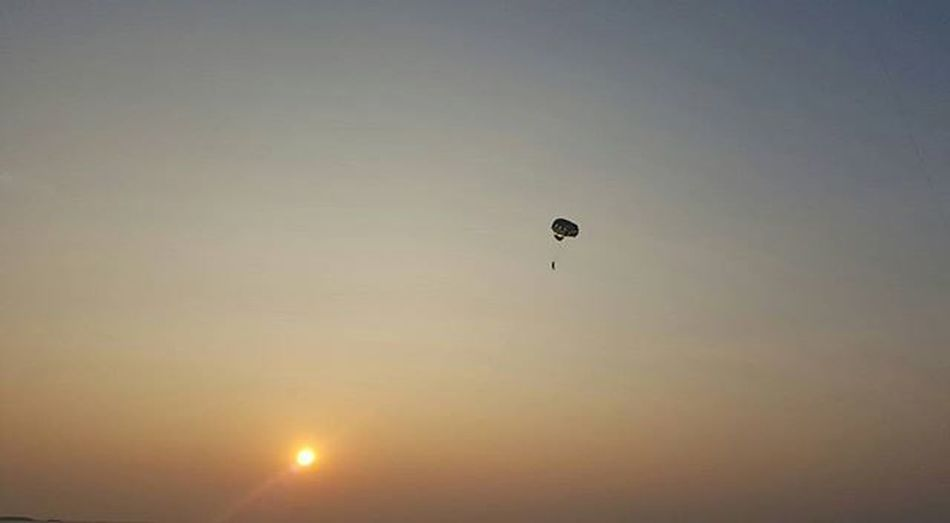 """KarthikAradhyaPhotography Malpe Parasailing """"Go Confidently in the direction of your dreams. Live the Life You have Imagined"""""""