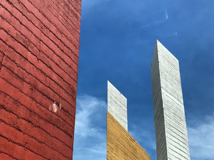 Mathias Goeritz Architecture Built Structure Building Exterior Low Angle View Sky Building No People #urbanana: The Urban Playground