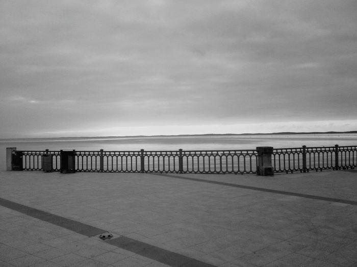 Andernos Les Bains France Jetée Grey Black & White Bassin D Arcachon Pier Monochrome Photography Black & White Friday