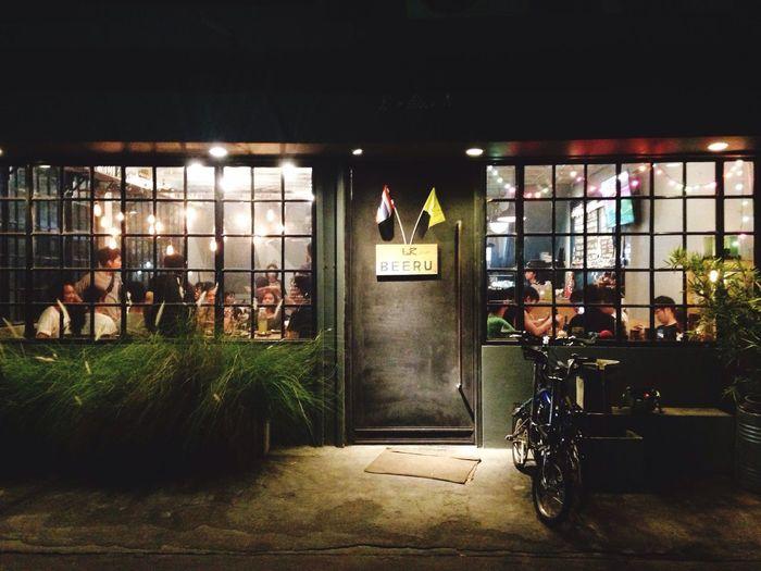 Bike to eat Japanese Restaurant Rama 8 Dinner Japanese Foods Take A Break Supper Evening Bangkok Arun-Amarin Beeru