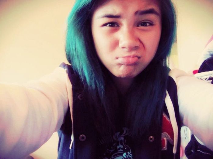 Missing This Turquoise Hair );