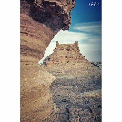. . غرد_بصورة_من_الجوف سكاكا الجوف .. قلعة_زعبل