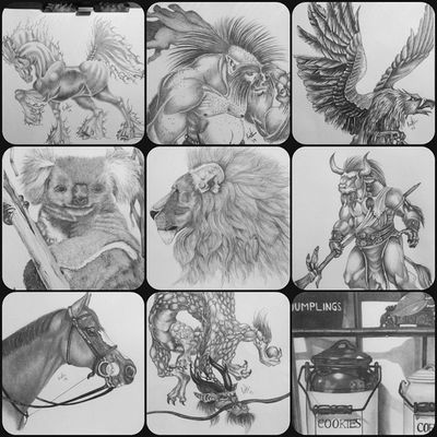 Photooftheday Instagram Art Drawing graphite pencil artist mythological still-life