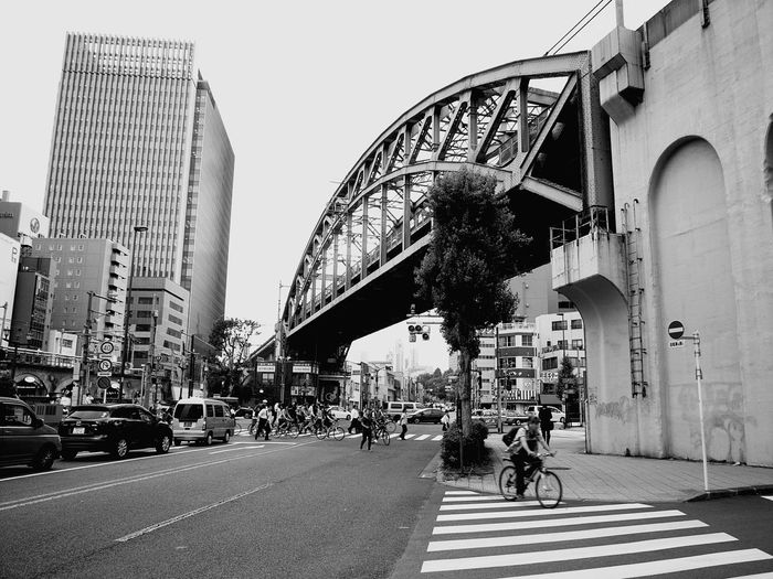 City City Street City Life Street Architecture Mode Of Transport Car Modern Transportation Bicycle Outdoors Day Travel Destinations Building Exterior People Sky Monochrome Nature Blackandwhite City Cityscape Monochrome Photography Monochrome Collection Monochrome World Black And White Collection  Architecture