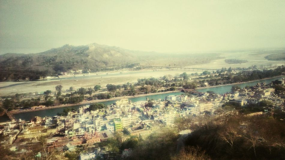 High Angle View Agriculture Tree Aerial View Outdoors Nature Beauty In Nature Young Adult Indian Culture  Indian Culture  Beautiful ♥ Religious Architecture Artistic Photo Indian Haridwar Ganga Nature_collection Silhouette Naturalovers Beautiful Nature Beautiful Day Nature Photography Beautiful Eyeemindia Picoftheday