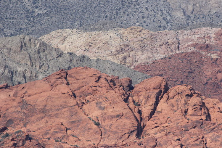 Mountains At Red Rock Canyon National Conservation Area