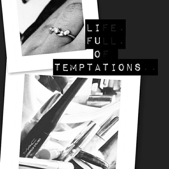 Temptation Details Of My Life Life Quotes Engagement Ring Makeup ♥ Fakeasmile