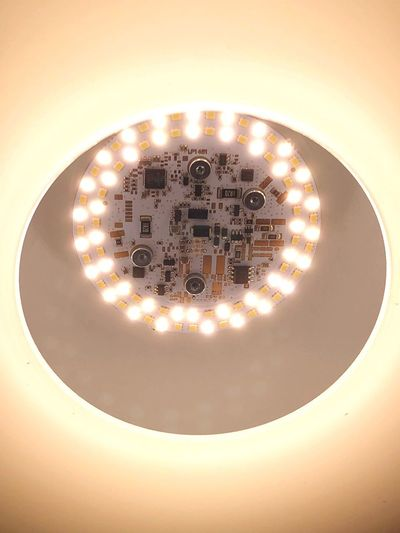 Electronic Electric Light Light Indoors  Close-up No People Shape