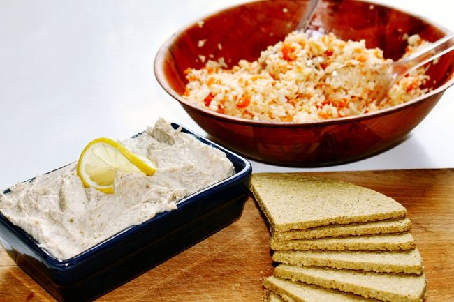 Lunch Lunch Time! Pate Salad Oatcakes Food Meal Mealtime Food Photography No People