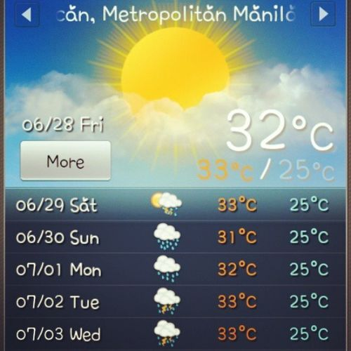 Rain rain please come back : ( Acuuwearher Rise Northcaloocan Metromanila heyitsfriday