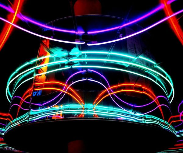 Light Neon Color Psychedelic