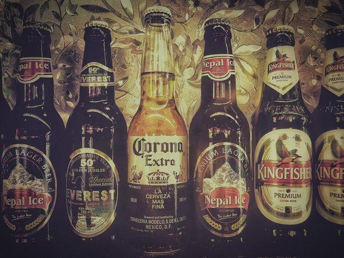 我雖然不能喝啤酒,可是啤酒label是萌萌的😄💕 Nepal加油😃 The Important Thing Is To Participateなんちゃってmission Our Best Pics Light And Shadow Nepal Beer Bottle 商標・Label萌