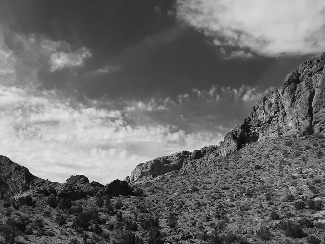 Arizona Desert Blackandwhite Black And White Photography Rugged Beauty Arizona Mountains Shadows & Lights Arizona Scenics Mountain Rock - Object Storm Cloud Sky Landscape Cloud - Sky Close-up Dramatic Sky Cliff Geology Rugged Eroded Canyon Rock Formation