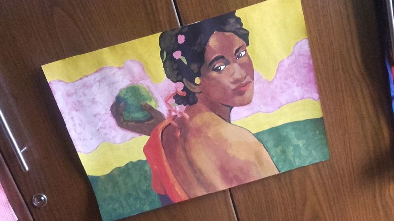 Paul Gauguin Pintura Ilustracion Pintura A Mano First Eyeem Photo