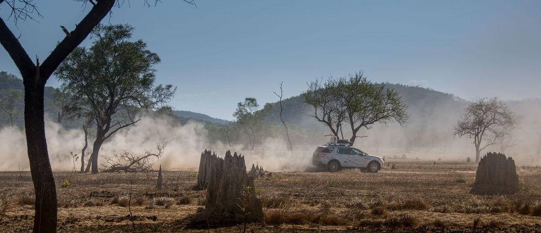 Australia Desert Expedition Land Rover Travel Photography Adventure Dust Land Land Vehicle Machinery Motor Vehicle Offroading Outdoors Overland Overlanding Rural Scene Summer Road Tripping The Traveler - 2018 EyeEm Awards