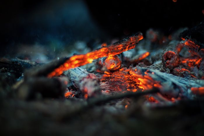 Burning Heat - Temperature Flame Glowing Outdoors Bonfire Selective Focus Fire Close-up Nature Ash Campfire No People Photography Amateurphotography Canonphotography Piero Hobbyphotography Canon 500d Amateurphotographer  Forest Tranquility Hobbyphotographer Nature