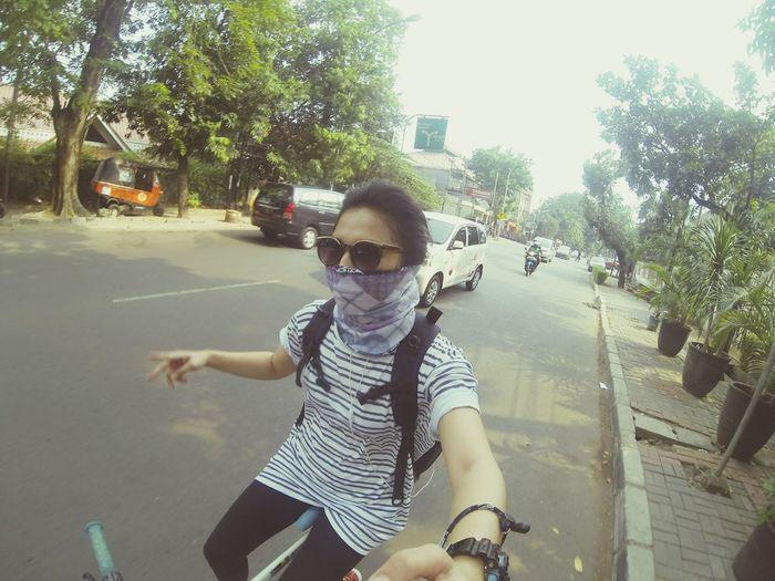 Goprooftheday Gopro Taking Photos Bike Ride