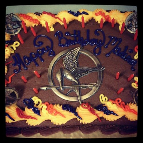 Hunger games cake! Surpriseparty