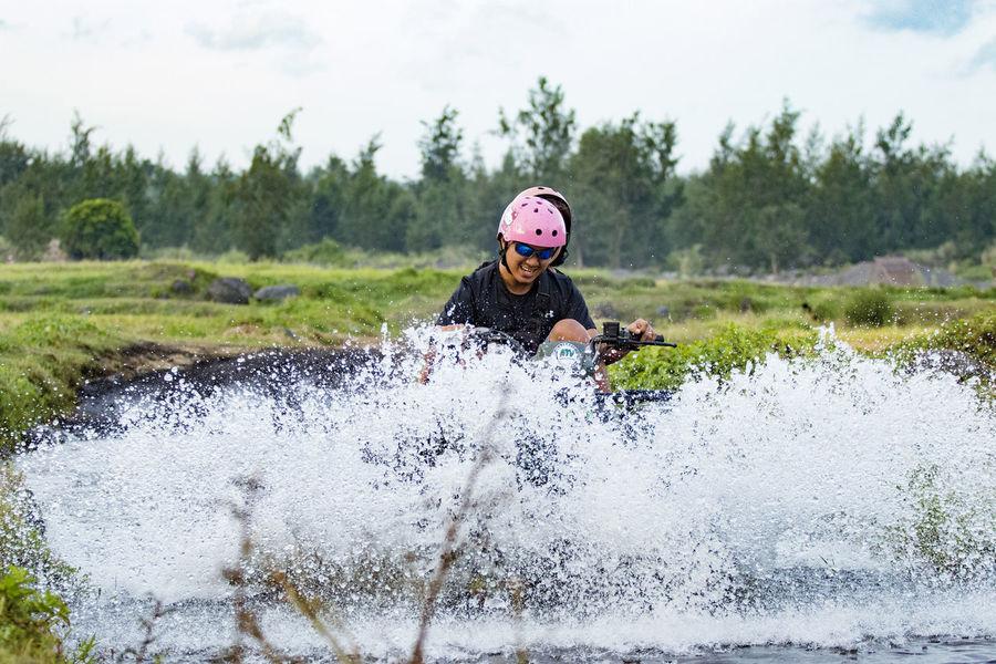 Adventure Time All Terrain Rocker Enjoying Life Happiness Scenic View Sportsphotography Water Splash! Weekend Activities