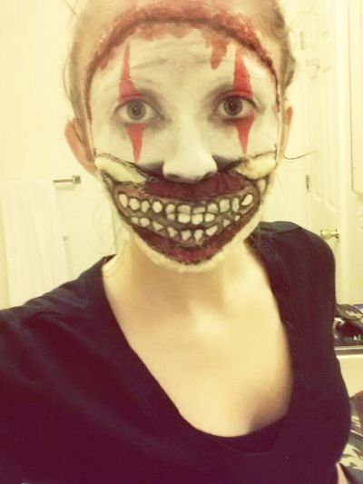 Twisty The Clown AHSFREAKSHOW Special Effects Makeup