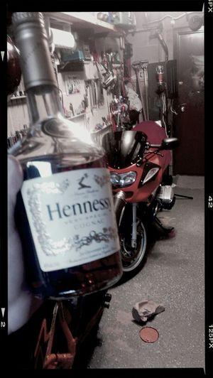 Bikes & Hennessy