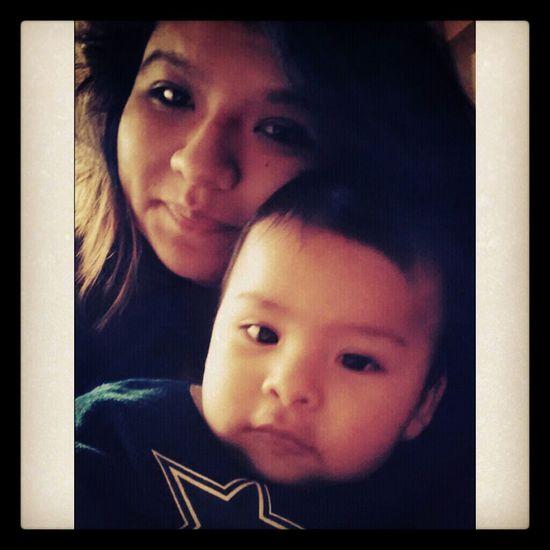 babysitting my nephew ♥