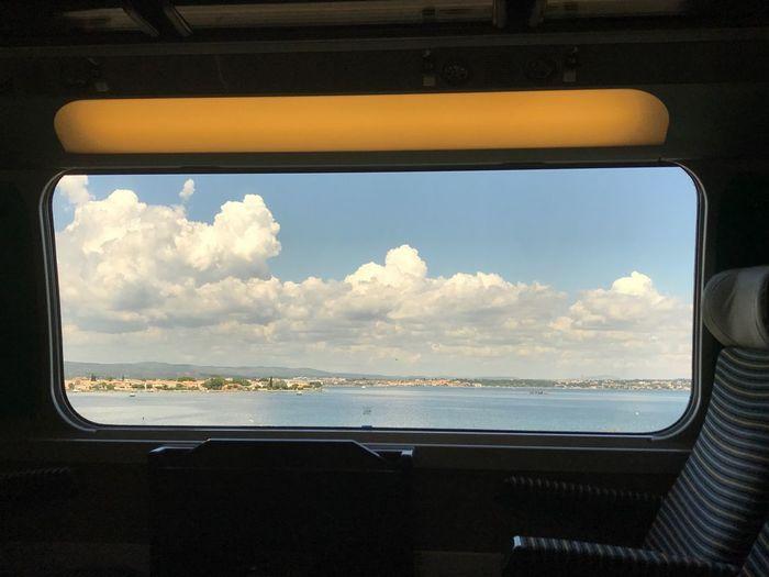 Train Sky Cloud