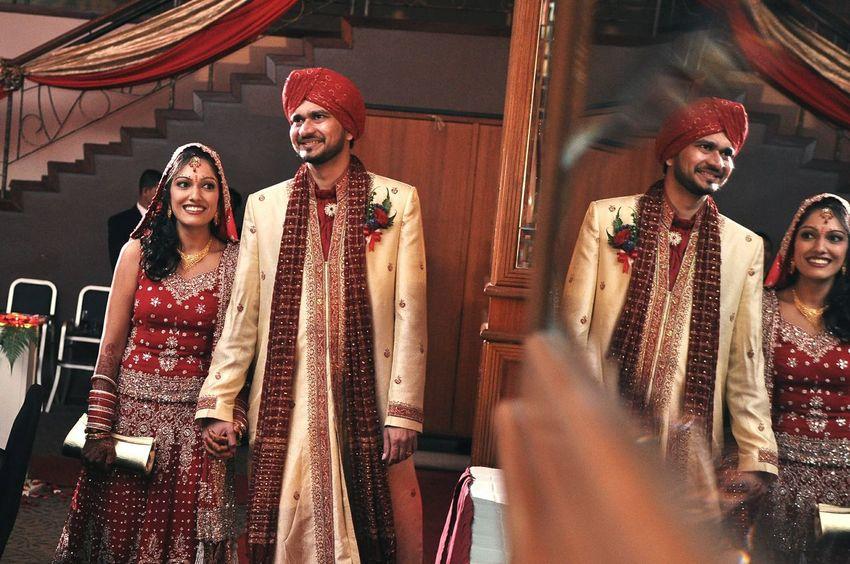 Getting Creative Wedding Photography Wedding Day Bride And Groom Bride & Groom Wedding Photos Punjabi Wedding  Wedding Reception