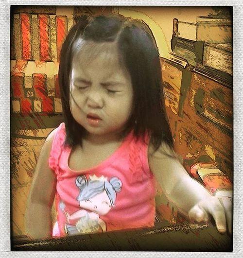 Good morning Baby Aicel! 😘😘😘 Mybabylove MyLittleMissSunshine