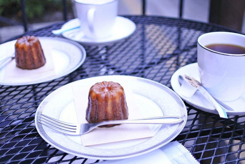 カヌレ Tea Time Coffee Cake Cafe Cafe Time Yummy