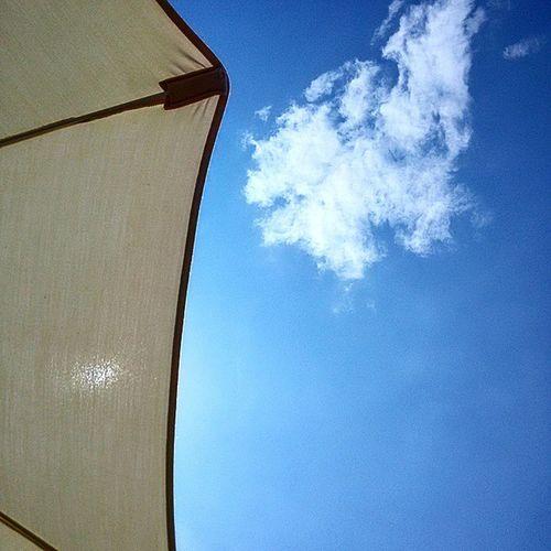 Sun Estate Cielo Nuvole Sky Skyporn Summer Summertime Summer2015 Blue Cloudporn Cloud Clouds AlzaLoSguardo